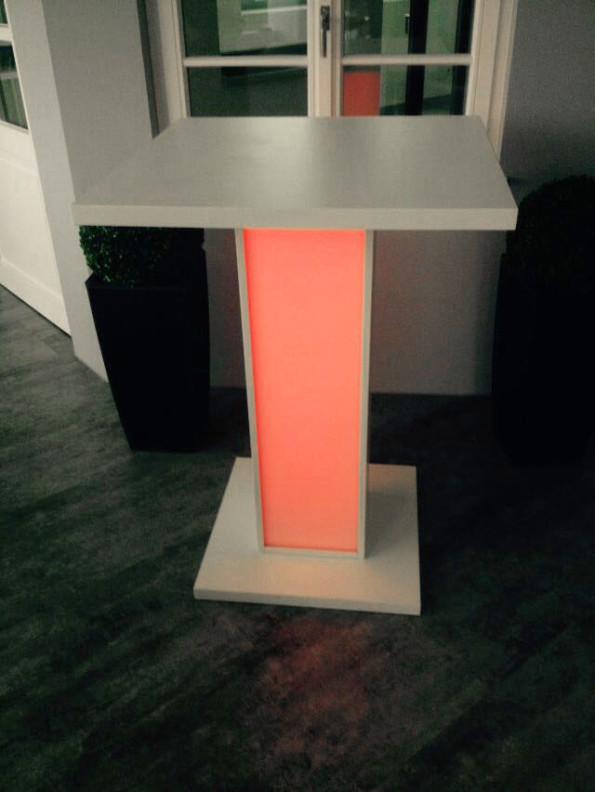 LED Tisch Stehtisch