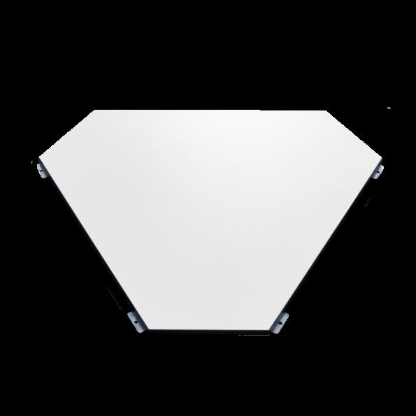 hexagon-mittelplatte-dinnertisch-verbindungsstueck
